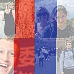 Examples of a filter Facebook users were able to add to their profiles to show solidarity with Paris following attacks by ISIS.