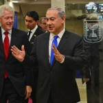 Netanyahu meeting with Bill Clinton on October 30