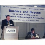 Dan Rabinowitz, then President of the Israeli Anthropological Association (IAA), Introducing Edward Said's key-note speech at the IAA's annual conference of 1999, Nazareth, Israel.