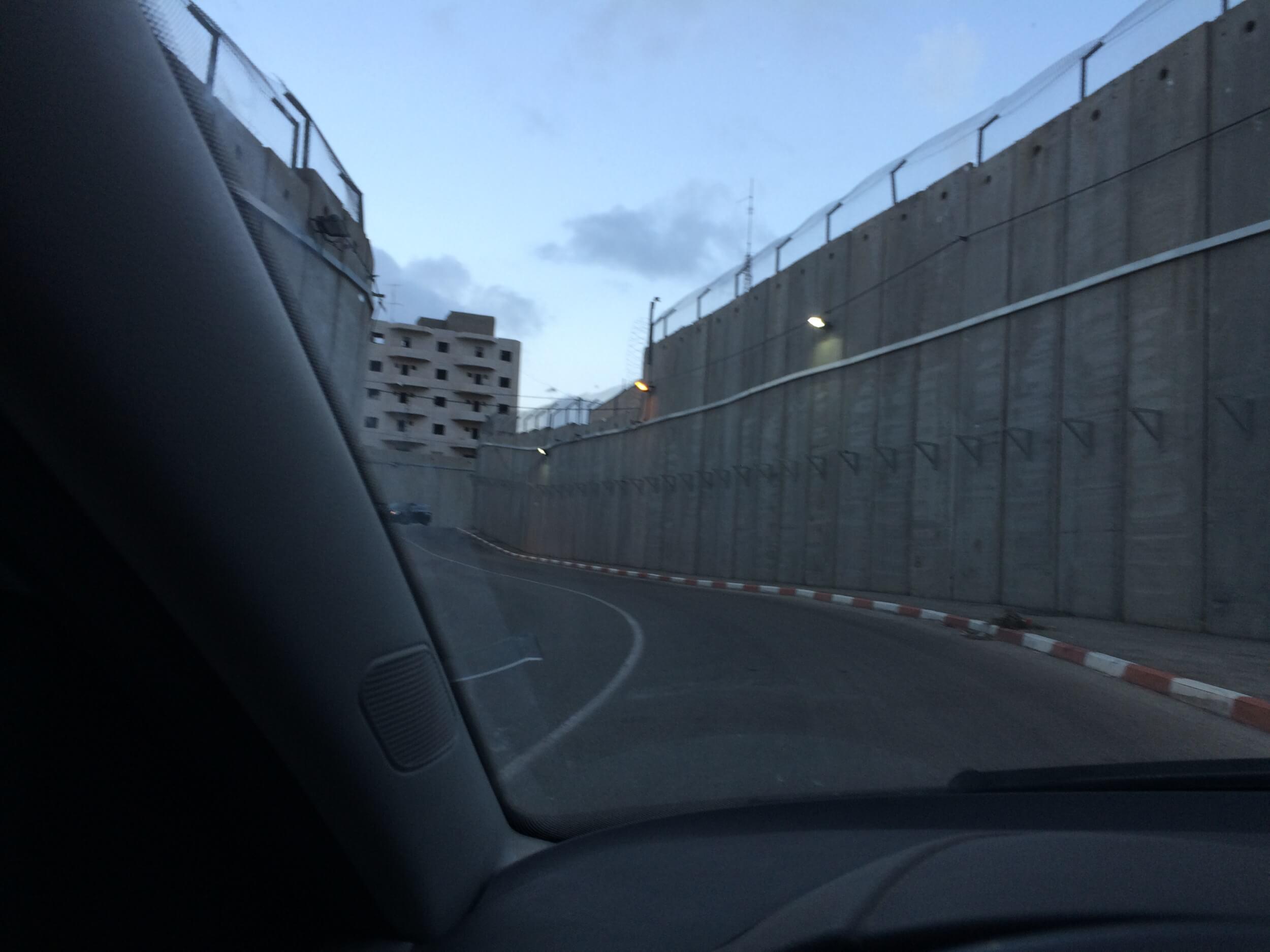 Entering Rachel tomb. (Photo: Eitan Bronstein)