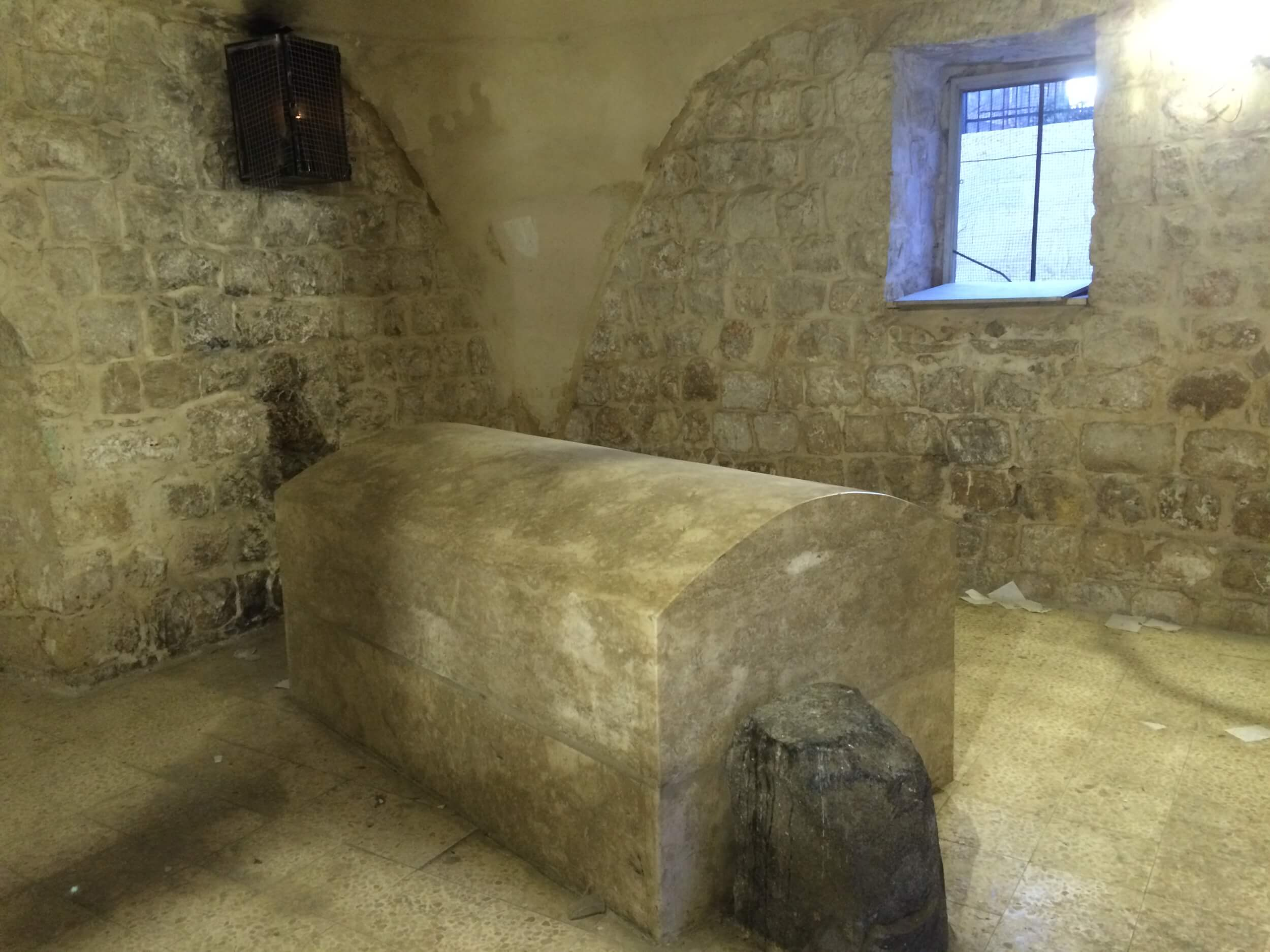 Joseph's Tomb (Photo: Alex Shams)