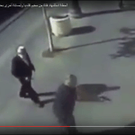 Israeli police officer kills Palestinian girl, 16, in Jerusalem Sunday Nov. 22, 2015, after she allegedly attacked man at left with scissors