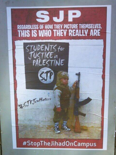 Anti-SJP poster.
