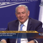 Netanyahu at Center for American Progress on Nov. 11, 2015, with Panerai?