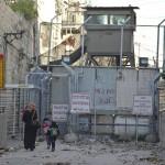 Tel Rumeida Checkpoint (Photo: Megan Hanna)