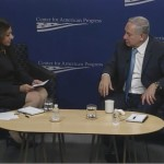 Neera Tanden and Netanyahu at Center for American Progress