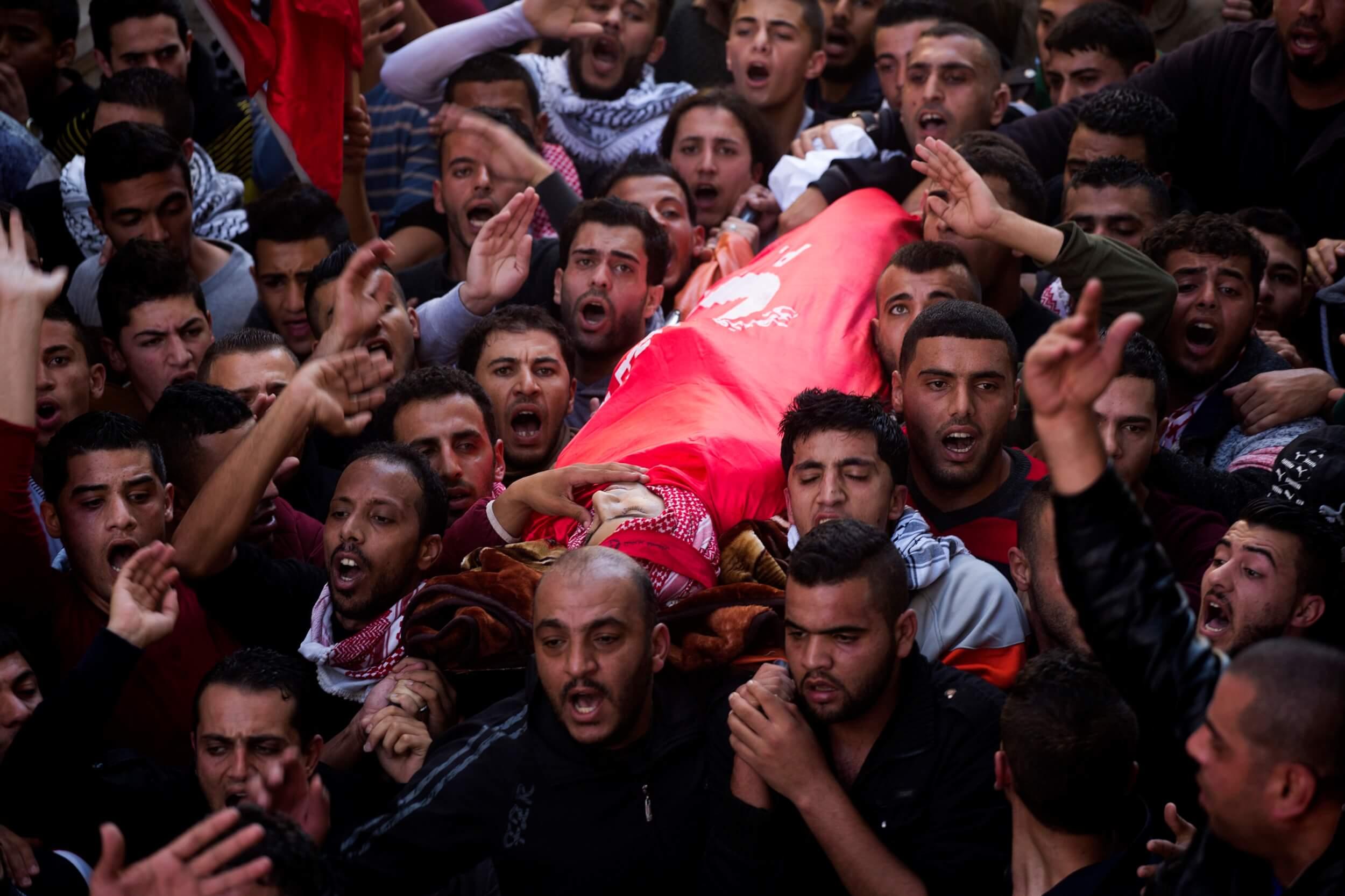 Funeral of Khalid Mahmoud al-Jawabreh