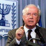 Prime Minister Yitzhak Rabin, assassinated in 1995