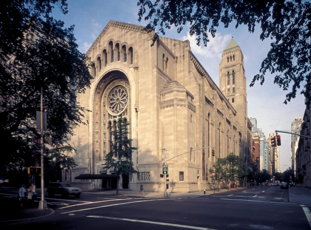 Temple Emanu-El in New York