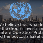 UN report cites BDS as key factor behind the 46% drop in foreign direct investment in Israel in 2014.