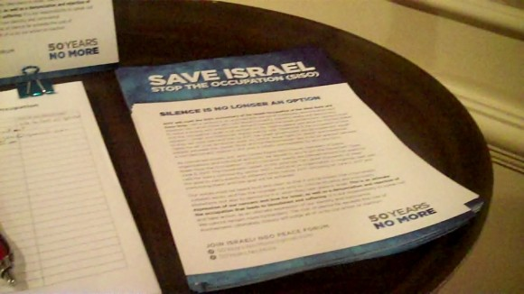 Save Israel Stop the Occupation