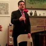 Ayman Odeh, member of Israeli Knesset, speaking at a social gathering in NY last night.