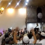 Israeli wedding-goers rejoice over the killing of a Palestinian baby. (Screenshot: Channel 10)