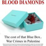 Tiffany placard-- blood diamonds