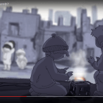 From UNRWA video, Share Your Warmth