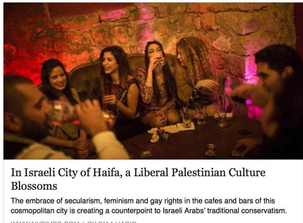 Screenshot of the article's original headline.