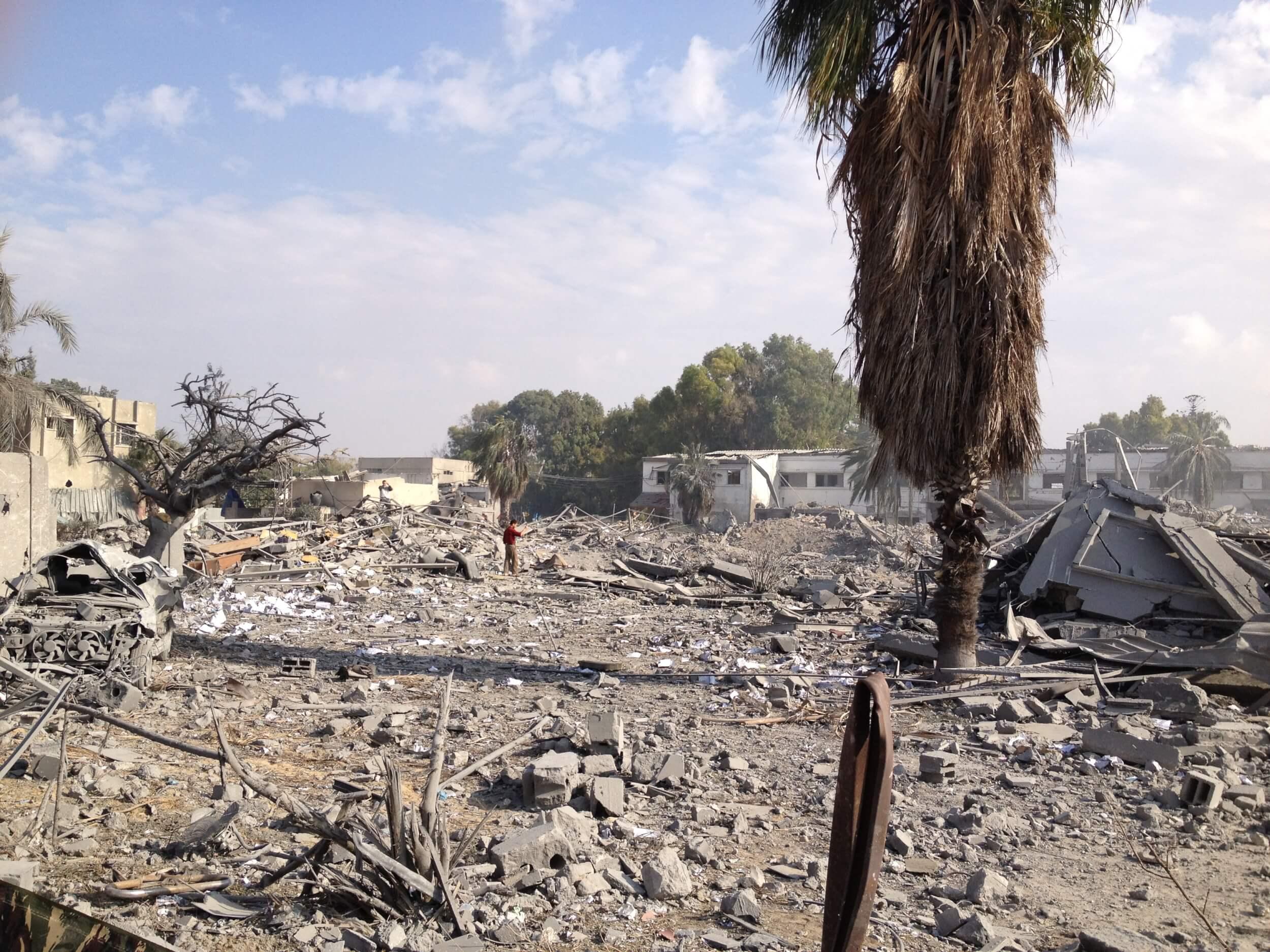 Reconstruction in Gaza has been slower than anticipated. (Photo: Isra Saleh El-Namy)