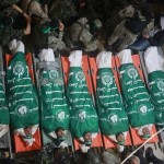 Seven al Qassam brigade members killed in collapsed tunnel in northern Gaza, image from Ma'an