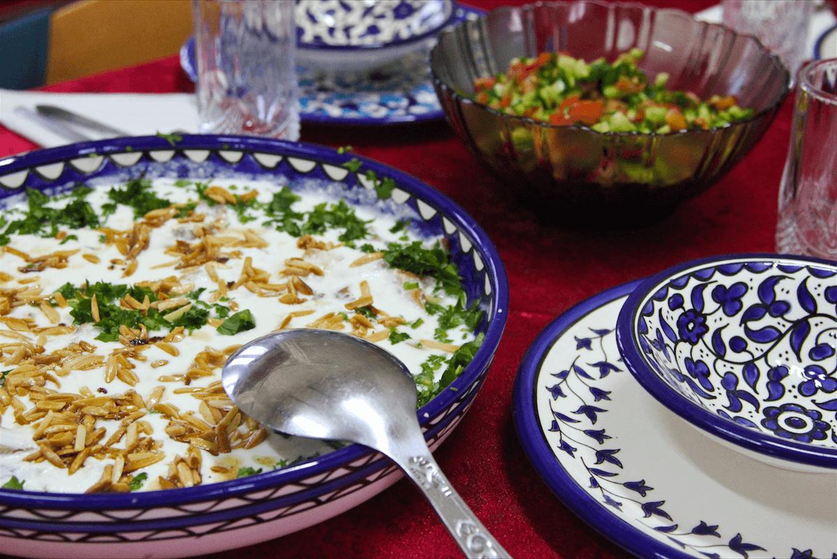 A sampling of food served at (Photo: Megan Hanna)