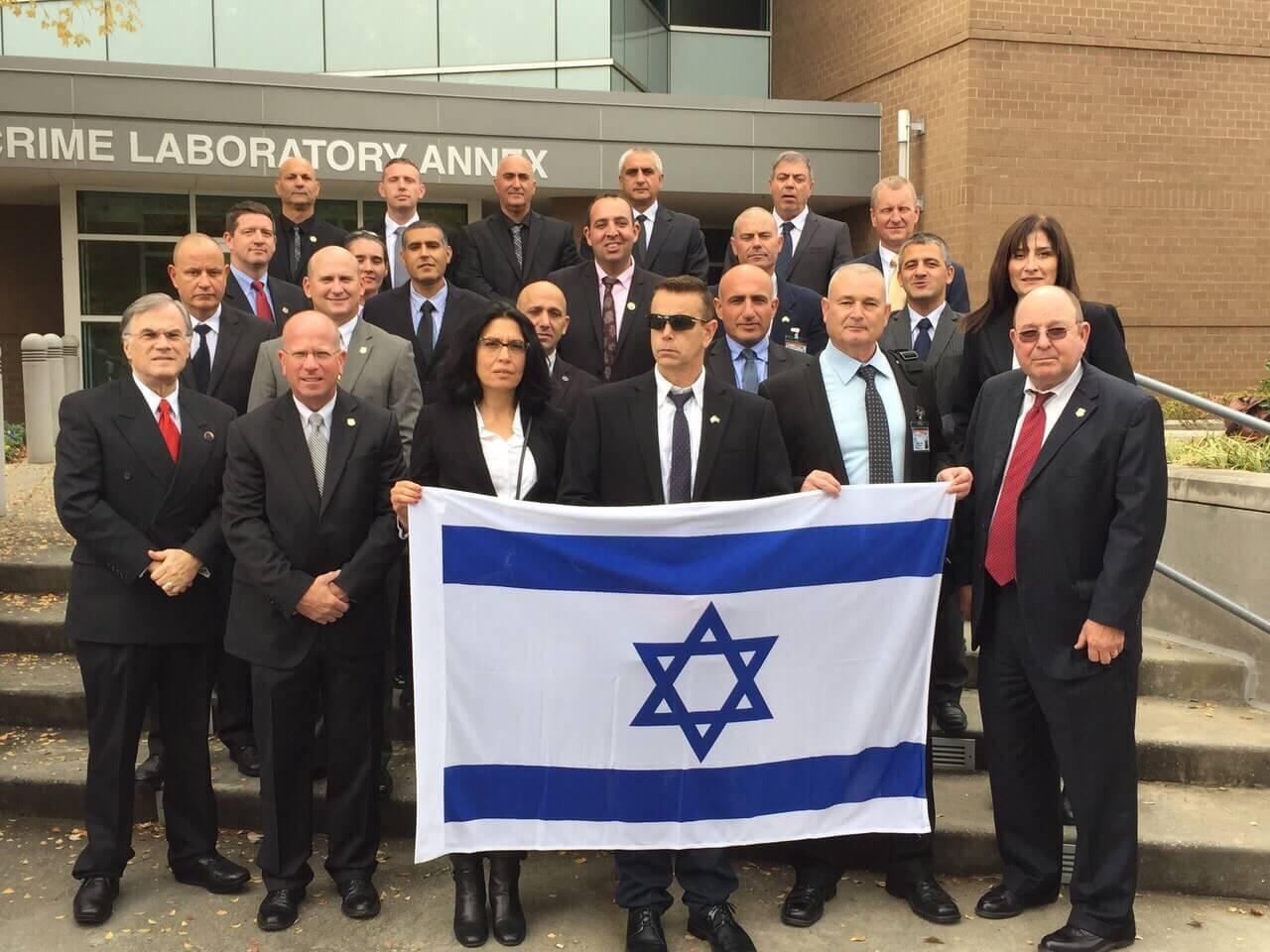 An Israeli delegation visits the Georgia Bureau of Investigations in 2014. (Photo: Georgia State University)