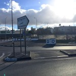 Beit Einun junction near the West Bank town of Sa'ir, January 9, 2016. (Photo: Adam Horowitz)