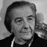 The late Golda Meir, who declared in 1969 that there was never such a thing as Palestinians