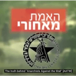 Screenshot of Ad Kan's video report on Anarchists Against the Wall. (Video:  Ad Kan/Calgary United with Israel)