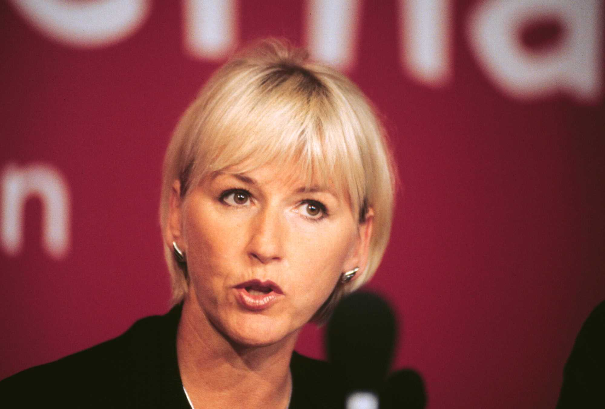 Margot Wallström of Sweden