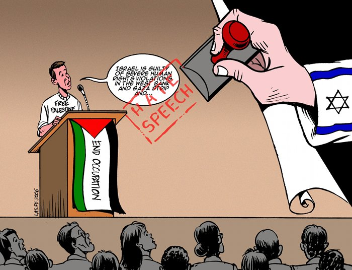 Latuff cartoon cited in Harvard Law School donor-pressure case