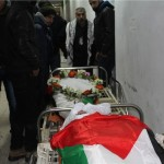Body of Omar Yousef Madi al-Jawabreh, photo by Ma'an agency