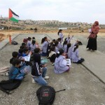 Israeli forces demolished a Bedouin school for children in the Abu al-Nuwaar community near the town of al-Eizariya in the occupied West Bank, a spokesperson for the al-Jahalin Bedouin community said. (Photo: Ma'an News)