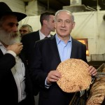 """""""In every generation enemies rise up to destroy us but God saves us from them,""""  Benjamin Netanyahu said two years ago, as he made matzoh for Passover"""