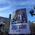 Rally for Bernie Sanders in NY, Jan. 30