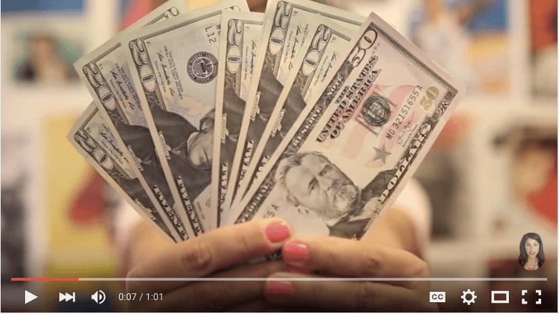 "Screenshot: 10 tips to SUPPORT ISRAEL ""Send money"""