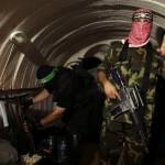 Al Qassam fighters in tunnels in Gaza. (Photo: Hamas press office)