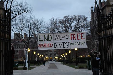 University of Chicago divestment campaign