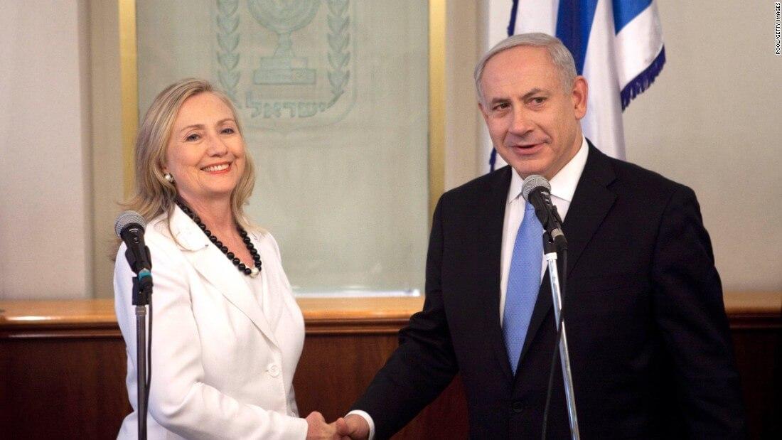 Hillary Clinton and Netanyahu