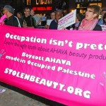 Photo: Code Pink's Stolen Beauty Ahava Boycott Campaign