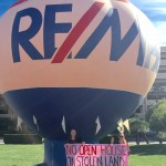 RE/MAX protesters (Photo: Code Pink)