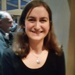 Rachel Sandalow-Ash, at Temple Israel in New Rochelle, NY, March 16, 2016