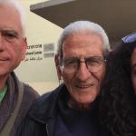 Tamara Ben-Halim -selfie with Yossi and Abu George Yafa Spring 2015