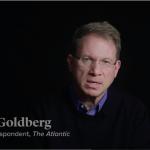 "Screenshot: ""The Day Obama Broke With the Washington Playbook"" narrated by Jeffrey Goldberg"