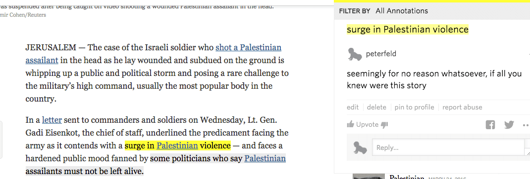 Peter Feld annotates the Times.