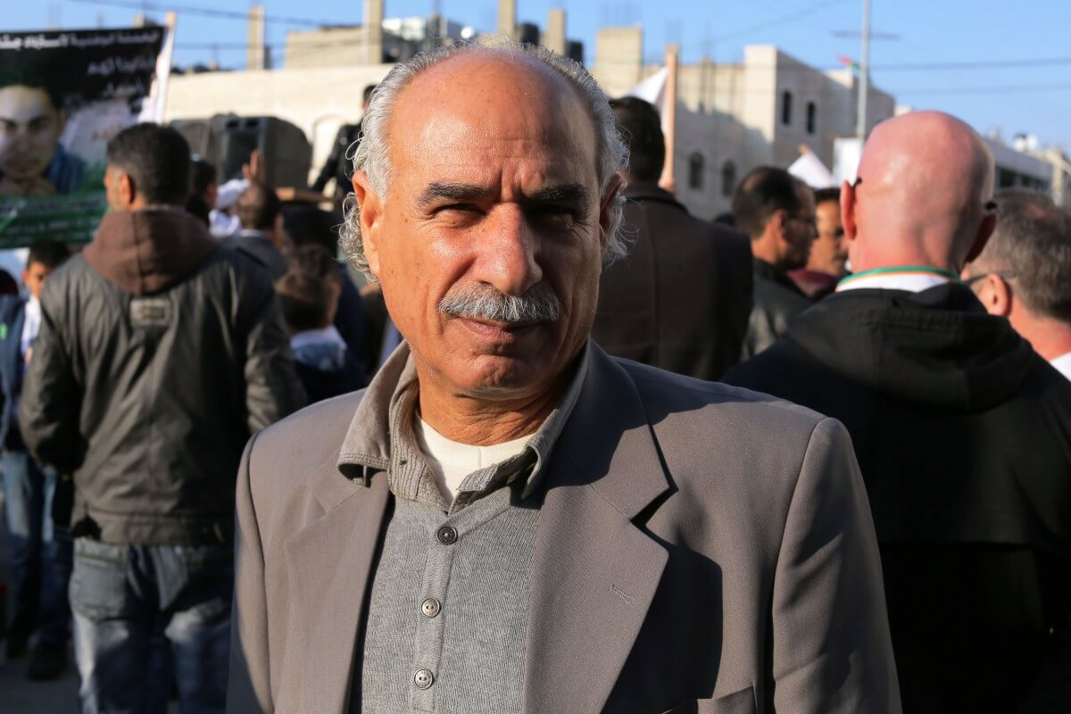 """Yousef Sharqawy, a well-known Palestinian activist told Mondoweiss that this year's Land Day was very important due to Israel's """"bold"""" confiscation of land in the Jordan Valley. (Photo: Abed al Qaisi/Mondoweiss)"""