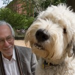 William Schaap and his dog, Bambu