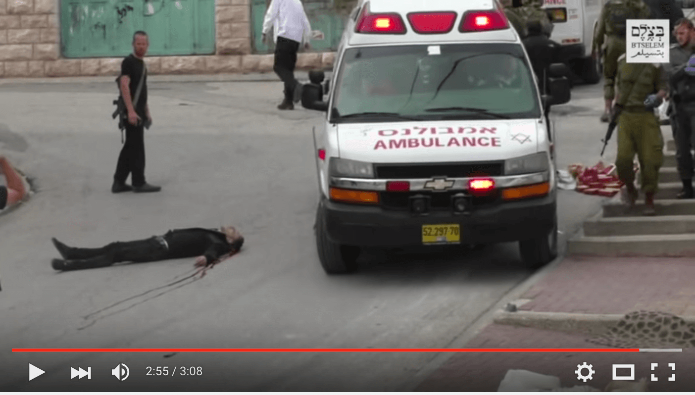 (Screenshot: B'Tselem/YouTube)