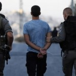 Israeli security forces arrest a Palestinian youth in East Jerusalem. (Photo: AFP)