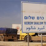 Kerem Shalom Crossing  to Gaza (Photo: IDF Spokesperson)