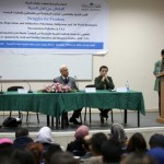 Struggles for Freedom Conference , March 29, 2016 (Photo: Beirzet University)