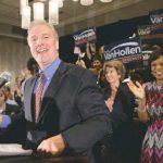 Chris Van Hollen, declaring victory Tuesday
